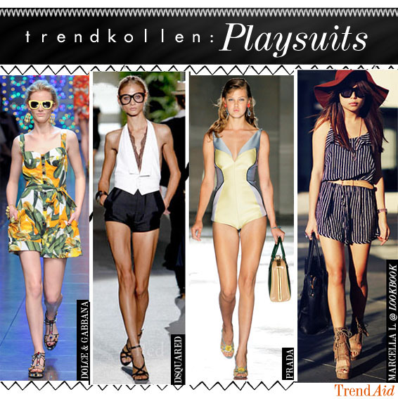 trendkoll: playsuits